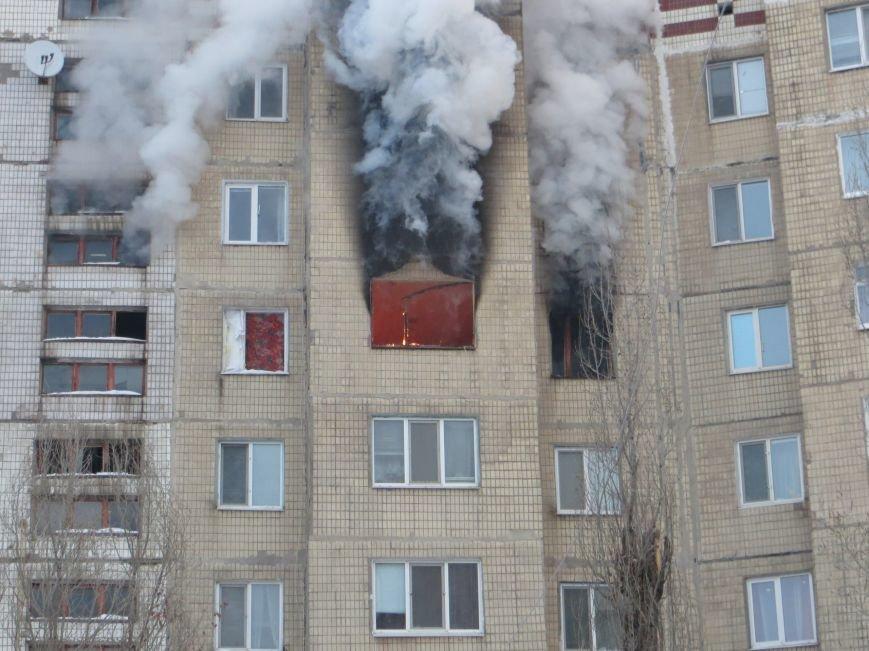 На Левобережье Днепродзержинска сильный пожар уничтожил квартиру (фото) - фото 5