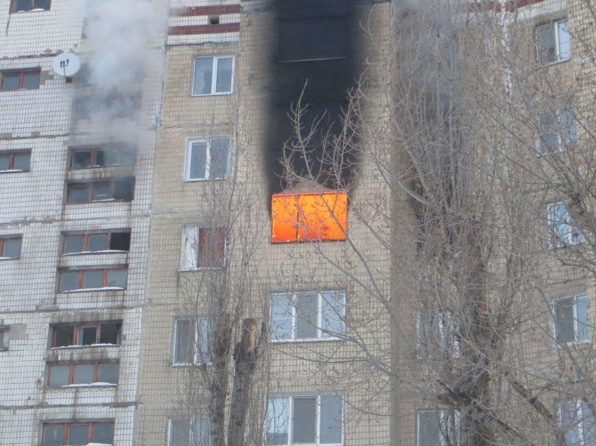 На Левобережье Днепродзержинска сильный пожар уничтожил квартиру (фото) - фото 3