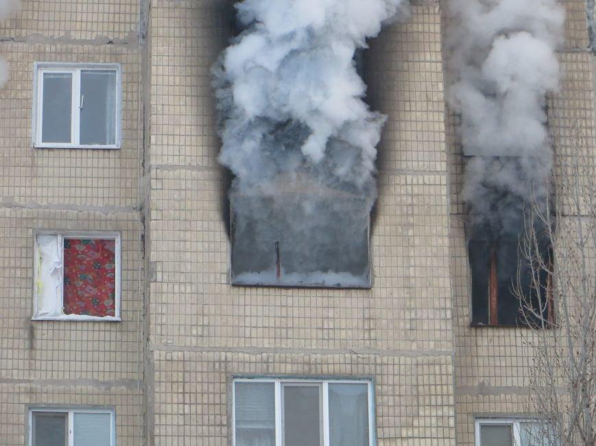 На Левобережье Днепродзержинска сильный пожар уничтожил квартиру (фото) - фото 6