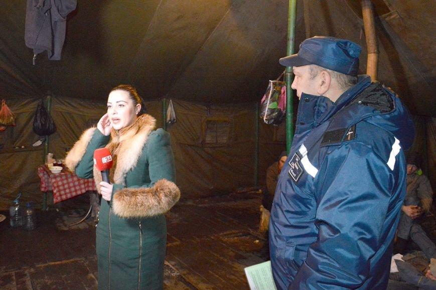 Днепропетровские спасатели рассказали о работе пунктов обогрева (ФОТО) (фото) - фото 6