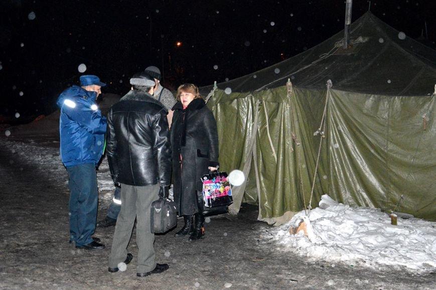 Днепропетровские спасатели рассказали о работе пунктов обогрева (ФОТО) (фото) - фото 2