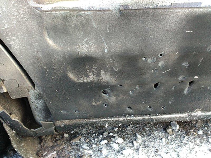 В Димитрове злоумышленники пытались ограбить и убить отца и сына (фото) - фото 1