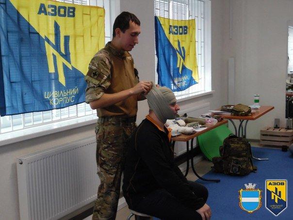 Во время военных учений кременчужане изучали десмургию (ФОТО) (фото) - фото 1