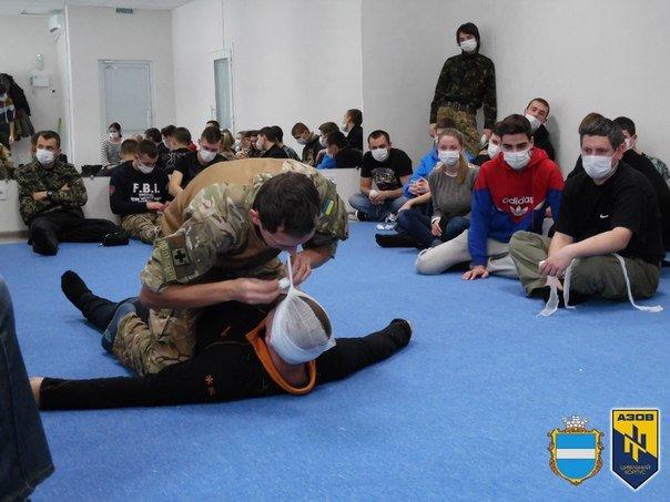 Во время военных учений кременчужане изучали десмургию (ФОТО), фото-10