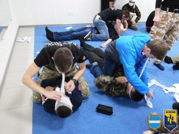 Во время военных учений кременчужане изучали десмургию (ФОТО), фото-1