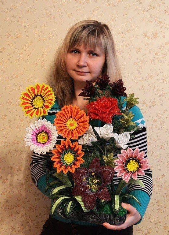 Мастер по бисероплетению из Чашников дает советы молодым мамам (фото) - фото 1