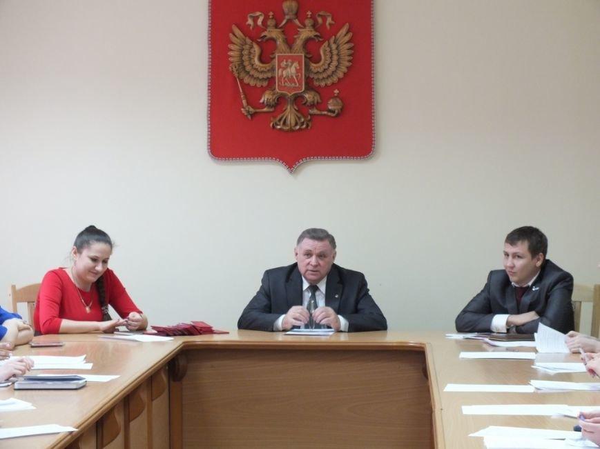 В Новошахтинске выбрали председателя Молодежного парламента (фото) - фото 1