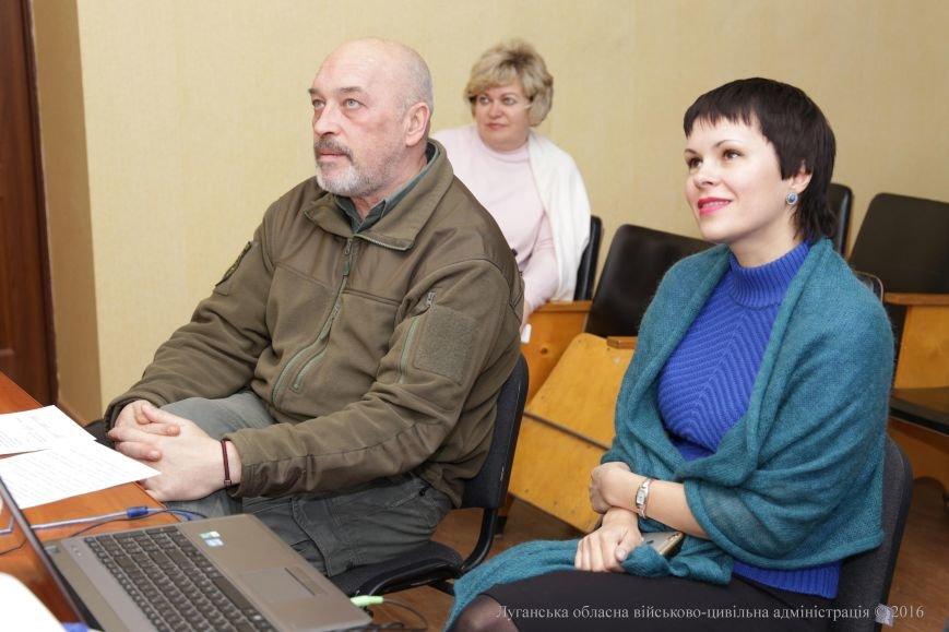 Школьники-переселенцы из Луганской области, которые учатся в Литве, пообщались с Георгием Тукой (фото) - фото 2