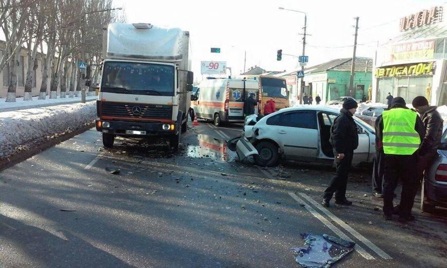 В аварии по дороге на одесский поселок Котовского пострадали двое малышей (ФОТО) (фото) - фото 1