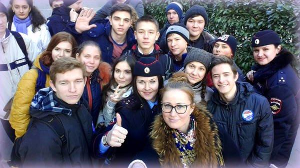 Ялтинским школьникам провели экскурсию по городскому управлению полиции, фото-2