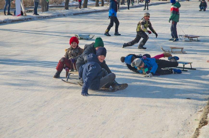 Зима пришла в Бердянск (ФОТОРЕПОРТАЖ), фото-10