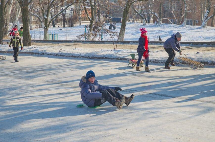 Зима пришла в Бердянск (ФОТОРЕПОРТАЖ), фото-8