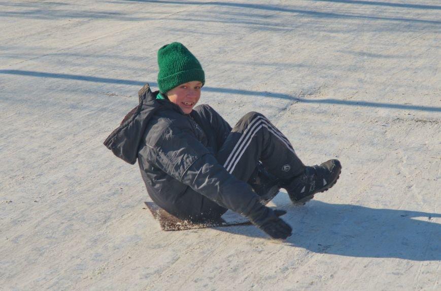 Зима пришла в Бердянск (ФОТОРЕПОРТАЖ), фото-3