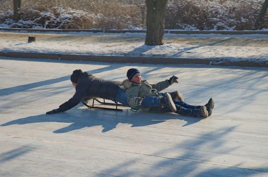Зима пришла в Бердянск (ФОТОРЕПОРТАЖ), фото-6