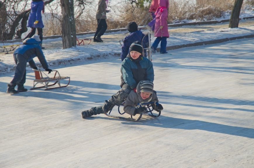 Зима пришла в Бердянск (ФОТОРЕПОРТАЖ), фото-4