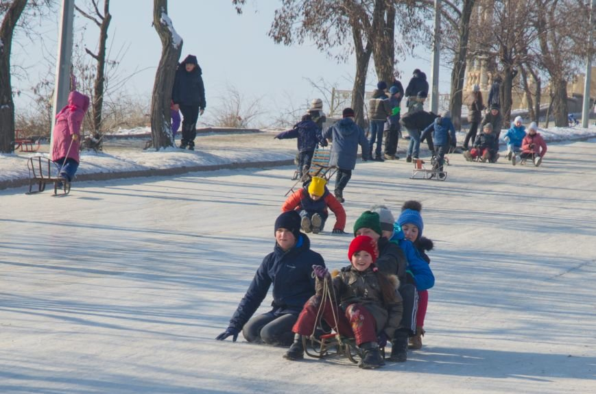 Зима пришла в Бердянск (ФОТОРЕПОРТАЖ), фото-5