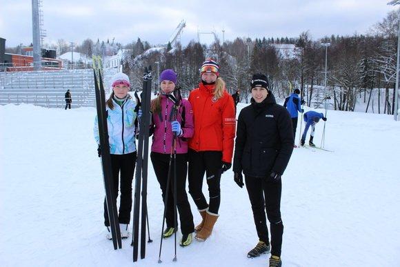 Новополоцкая лыжная школа заняла третье место в командном зачете на Первенстве РБ (фото) - фото 1