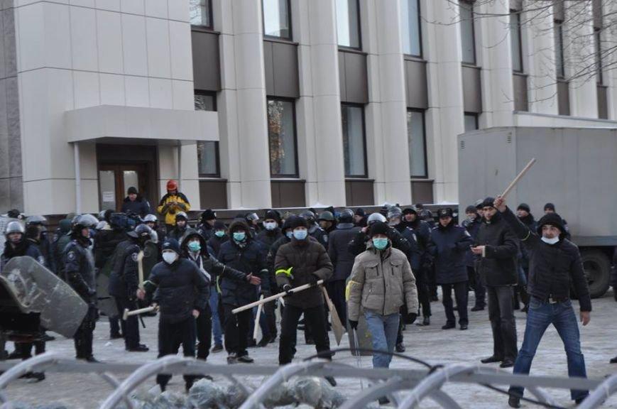 Штурм Днепропетровской ОГА: как это было в январе 2014 года (ФОТО) (фото) - фото 10