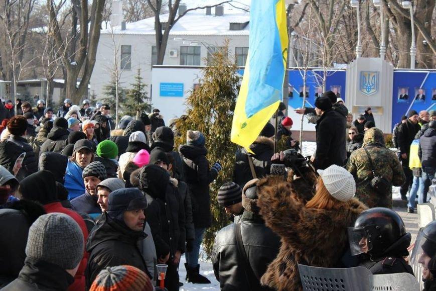 Штурм Днепропетровской ОГА: как это было в январе 2014 года (ФОТО) (фото) - фото 7