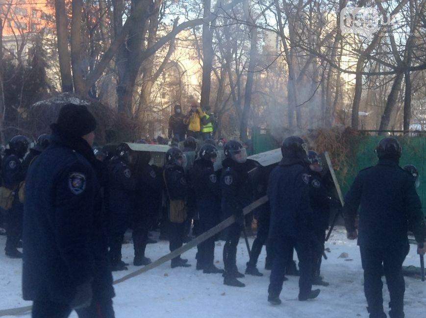Штурм Днепропетровской ОГА: как это было в январе 2014 года (ФОТО) (фото) - фото 6