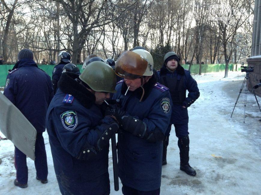 Штурм Днепропетровской ОГА: как это было в январе 2014 года (ФОТО) (фото) - фото 5
