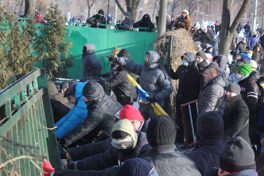 Штурм Днепропетровской ОГА: как это было в январе 2014 года (ФОТО) (фото) - фото 8