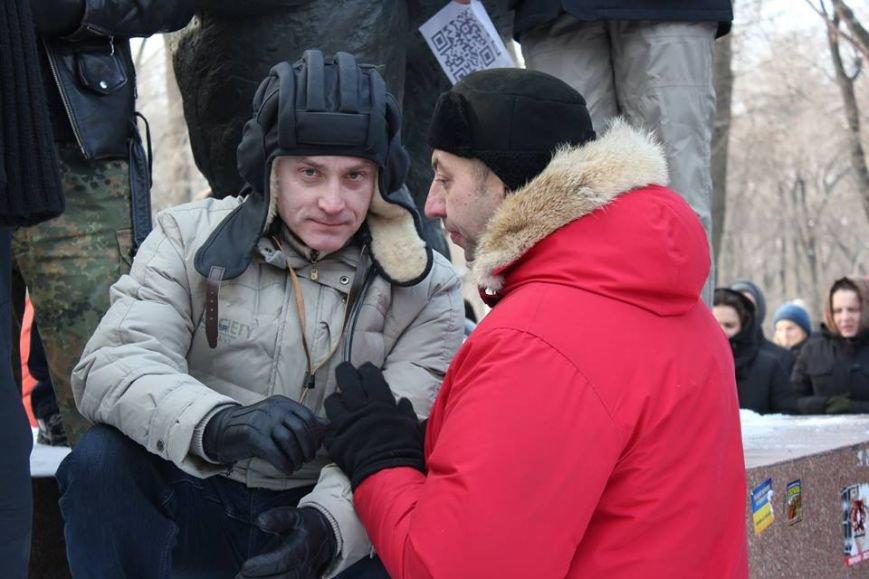 Штурм Днепропетровской ОГА: как это было в январе 2014 года (ФОТО) (фото) - фото 11