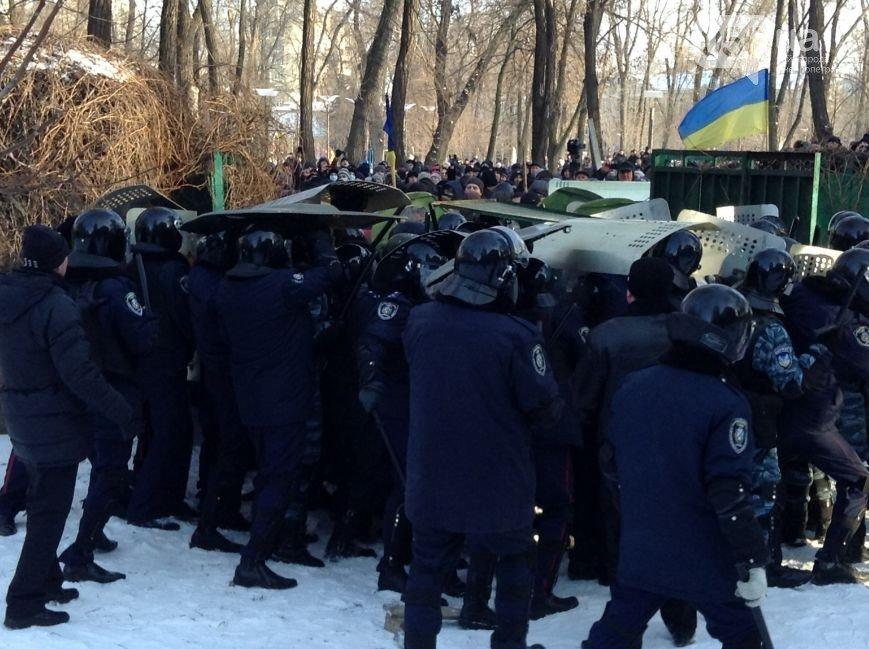 Штурм Днепропетровской ОГА: как это было в январе 2014 года (ФОТО) (фото) - фото 4