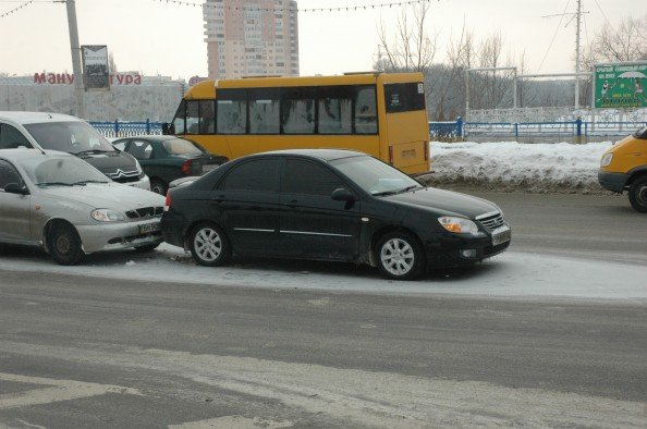 На Харьковском мосту в Сумах небольшая проба из-за ДТП (ФОТО), фото-2