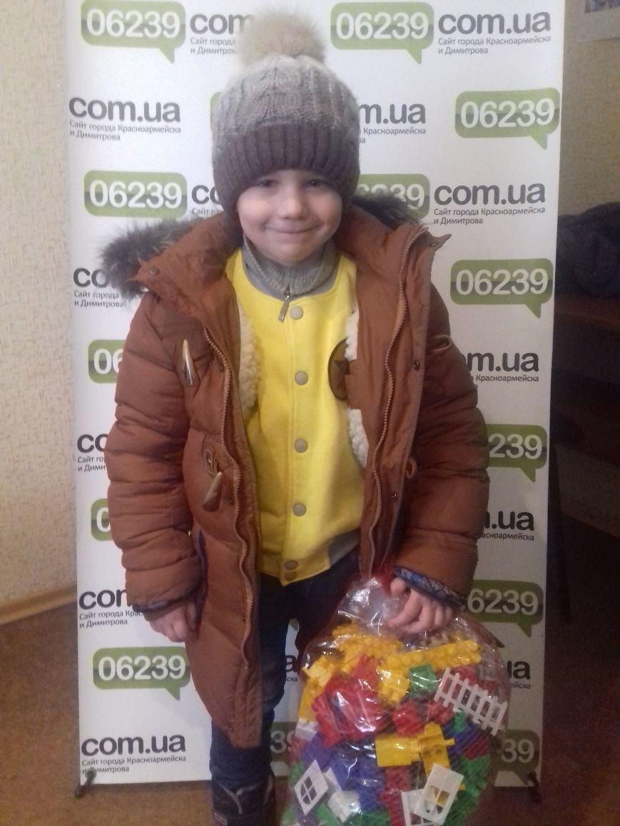 В Красноармейске награжден третий призер конкурса «Лучший новогодний костюм-2016» (фото) - фото 1