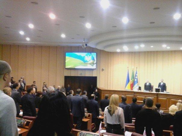 Криворожские депутаты собрались на первое в 2016 году пленарное заседание (фото) - фото 1