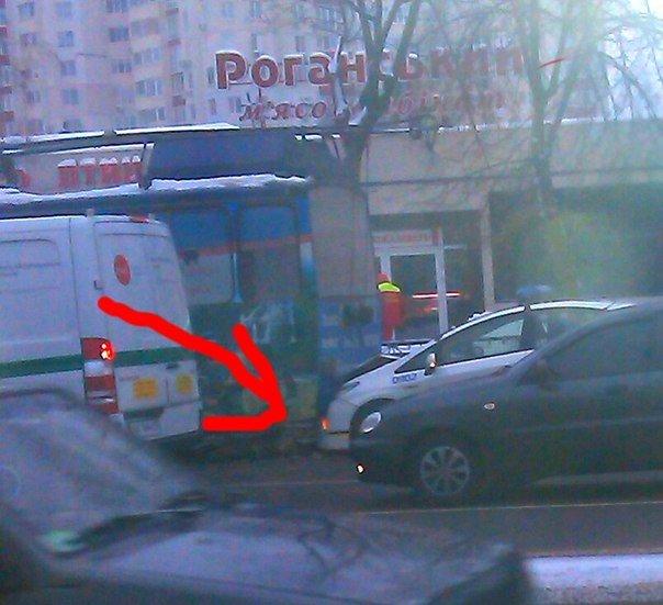 В Харькове патрульные