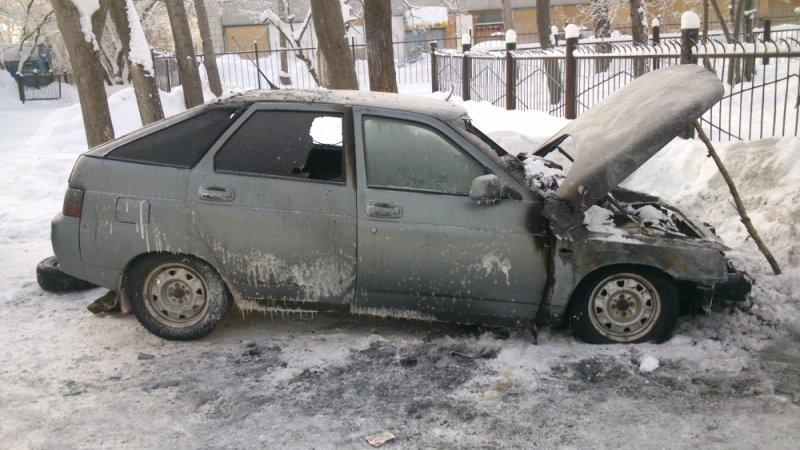 В Ульяновске снова горят автомобили. ФОТО, фото-1