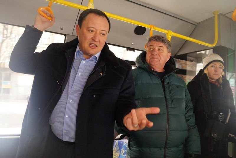 В Запорожье запустили автобус, который будет ездить с Шевченковского на Бородинский - ФОТО (фото) - фото 8
