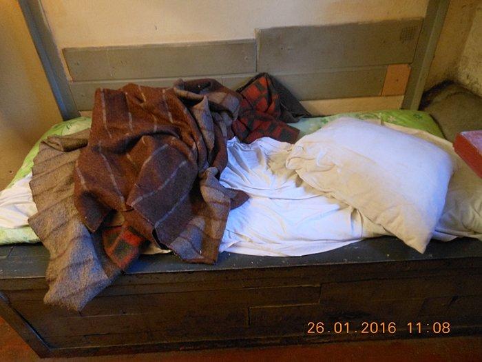 4 спальне місце особи яка перебуває в ІТТ