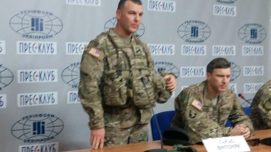 Американці у Львові продемонстрували, яким має бути екіпірування українських військових (ФОТО) (фото) - фото 3