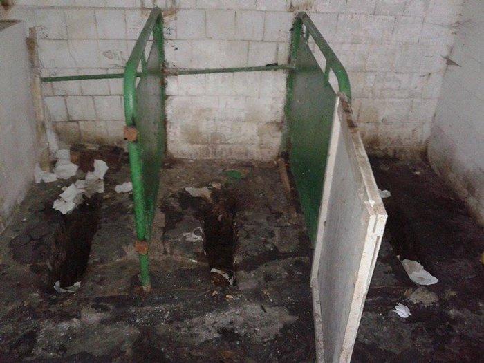 Туалет на вулиці