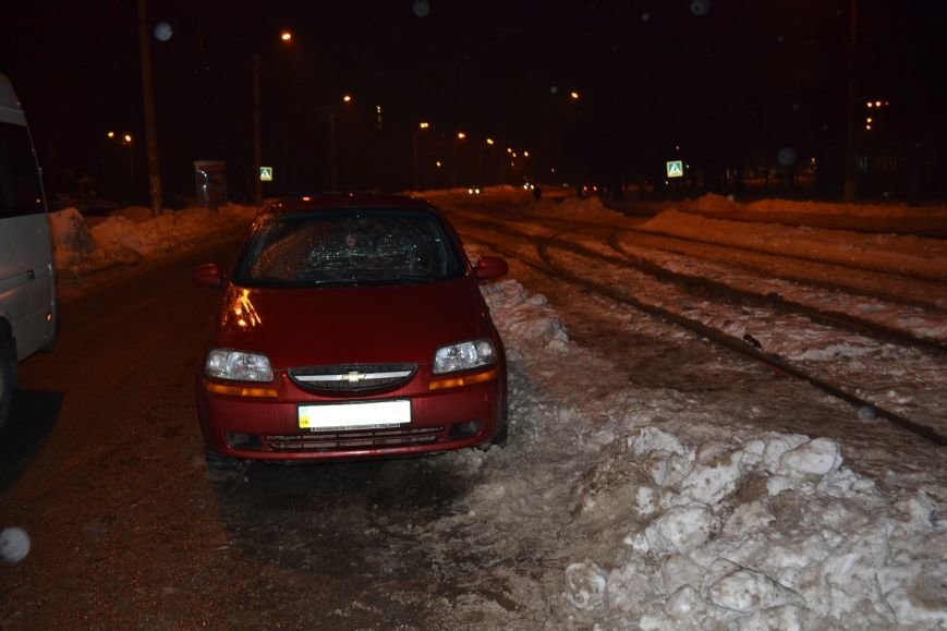 "В Кривом Роге ""Chevrolet Aveo"" сбил пешехода (ФОТО), фото-1"