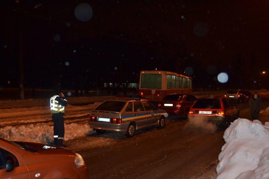 "В Кривом Роге ""Chevrolet Aveo"" сбил пешехода (ФОТО), фото-12"