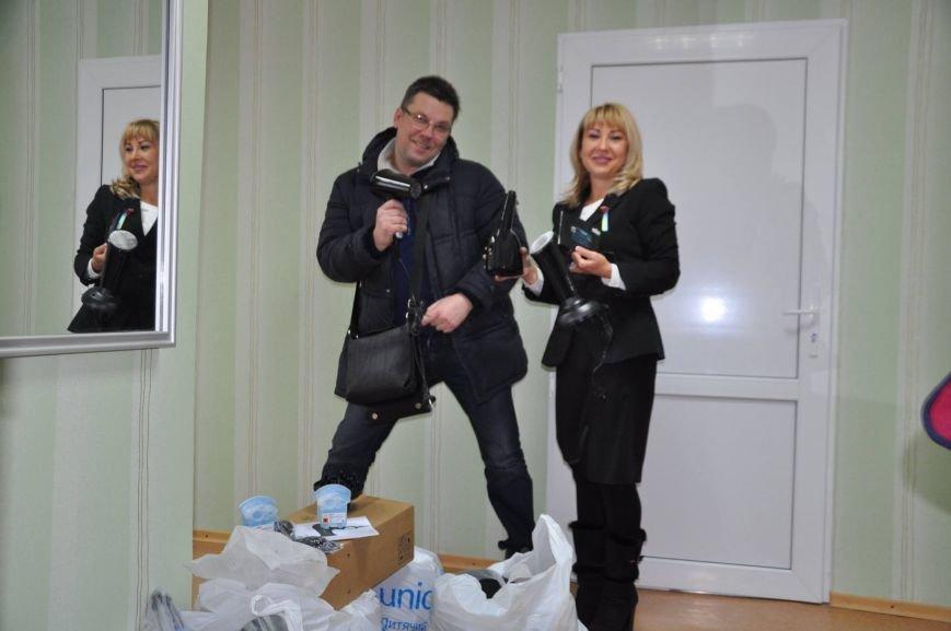 Слушатели Центра для инвалидов получили фены и бритвы в подарок, фото-1