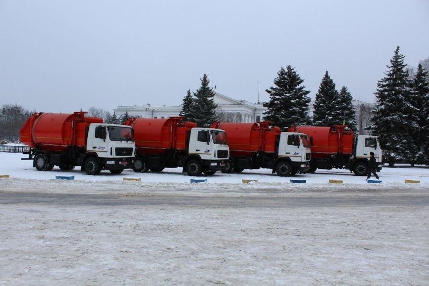 В Краматорск привезли новую технику для уборки, фото-1