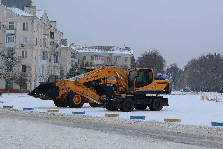 В Краматорск привезли новую технику для уборки, фото-2