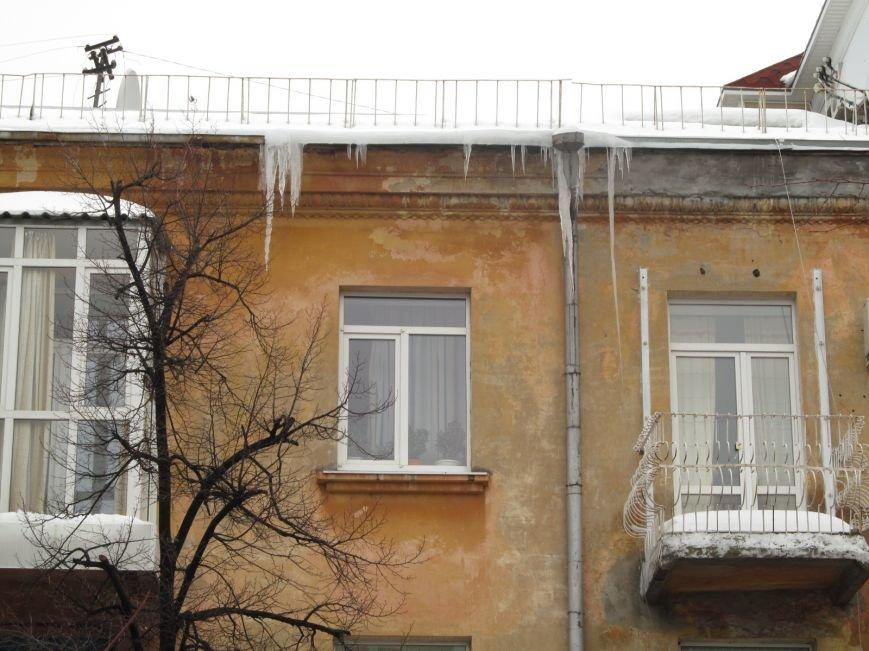 """Осторожно! Ледяные """"монстры"""" готовы обрушиться с крыш домов на головы своих жертв (ФОТО), фото-6"""