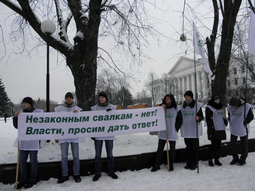 В Краматорске прошел экологический митинг (фото) - фото 3