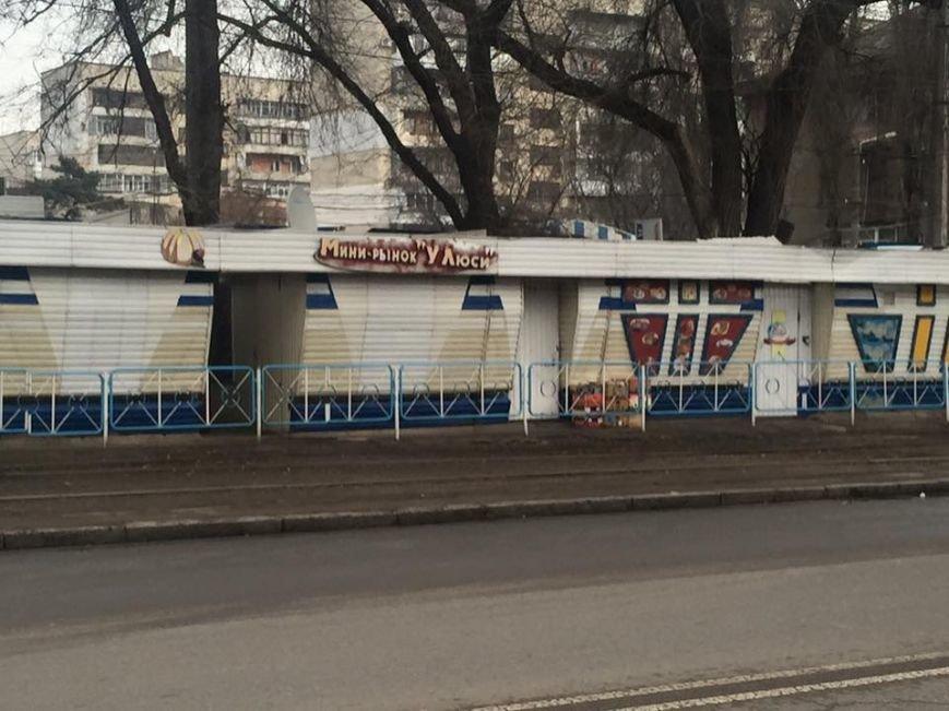 На одесском Фонтане разрушат скандальный мини-рынок