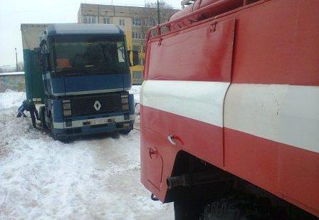 В Кривом Роге водитель