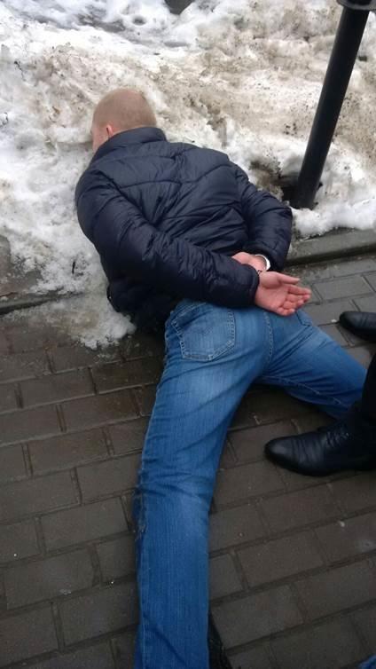 В Киеве майор полиции попался на взятке в 80 тыс. грн (ФОТО) (фото) - фото 1