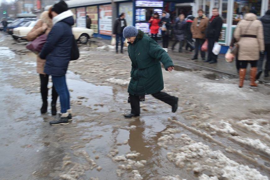 После сильных морозов криворожанам угрожает подтопление (ФОТО), фото-12