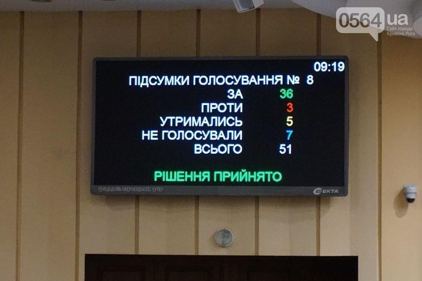 В Кривом Роге: депутаты внесли изменения в бюджет, полиция задержала наркомана с
