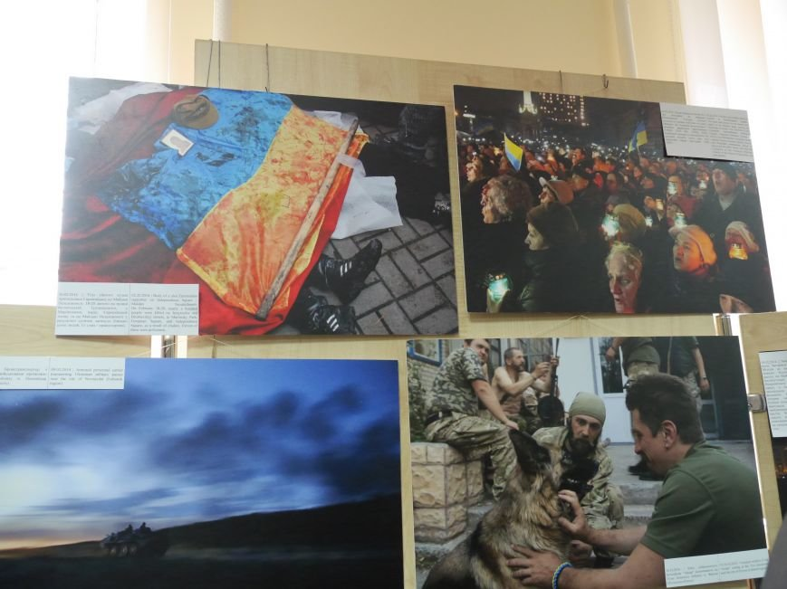 Фотовиставку Віктора Гурняка «Війна в моїй країні» відкрили у Тернополі (ФОТО) (фото) - фото 2